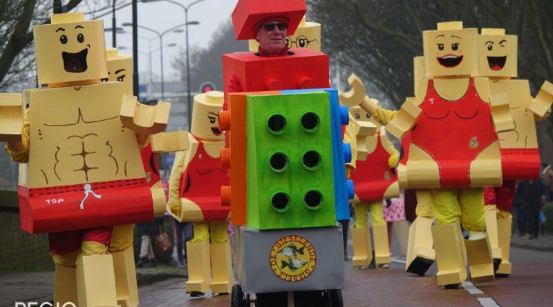 Enkhuizen gaat lekker los op de Carnavals optocht 2018
