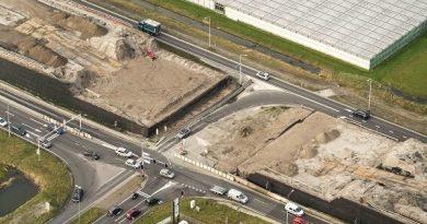 Hei- en asfaltwerkzaamheden Oostergouw in Zwaag: omleidingen en weg afsluitingen