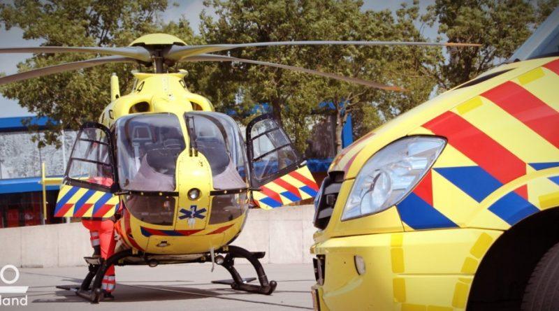Jongen zwaar gewond na val met scooter