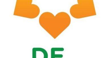 Eenhoornzegel voor 50 jaar Zonnebloem Zwaag/Zwaagdijk-West