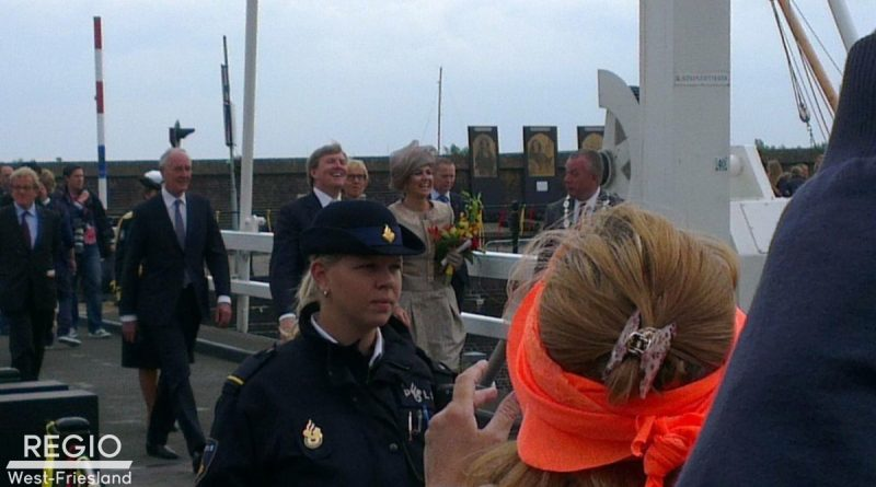 Koning en koningin komen naar West-Friesland