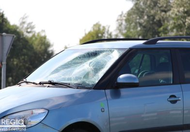 Gewonde gevallen bij botsing met auto in Wieringerwerf