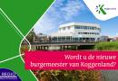 RSS Wie wordt de nieuwe burgemeester van Koggenland?