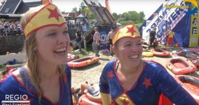 Rubberbotenrace en Kermis Hoogkarspel 2018 [Westfriesland.tv]