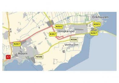 De provinciale wegen van project N23 Westfrisiaweg krijgen nieuwe wegnummers