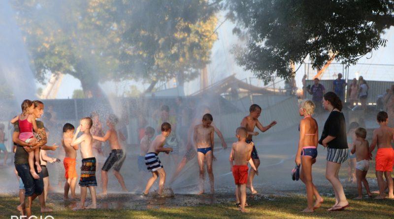 Waterfeest met Brandweer Enkhuizen op Landje van Top