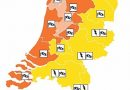 Code oranje voor extreme wind in Noord-Holland