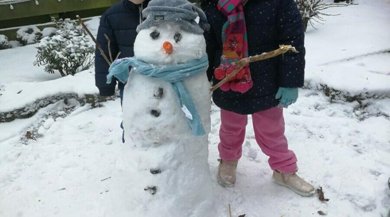 Ingezonden sneeuwfoto's