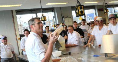 Ambacht brood bakken dreigt te verdwijnen' Horizon College stimuleert jongeren voor dit vak te kiezen