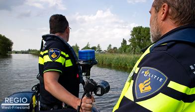 [Video] Politie Noord-Holland ook op het water actief