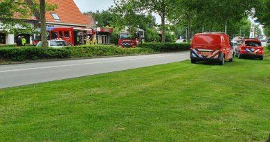 Brand in voormalige sexclub in Middenmeer