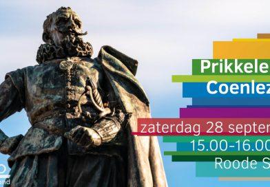Prikkelende Coenlezing van choco evangelist in Hoorn