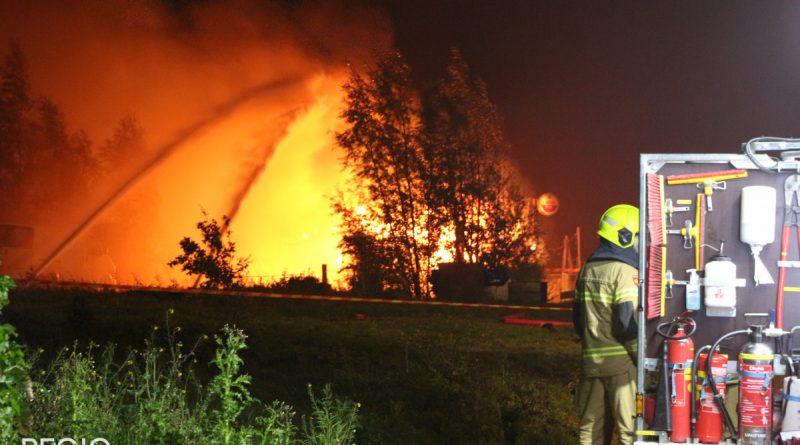 Restaurant brand uit aan de Schelpenhoek: Gasexplosies door de hele omgeving te horen