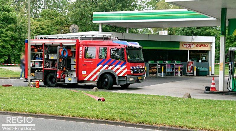 Brandstichting bij BP tankstation, 32-jarige persoon aangehouden