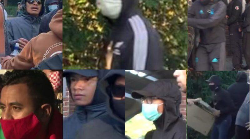 Politie zoekt deze personen na onlusten in Hoorn, 7 verdachten openbaar gemaakt