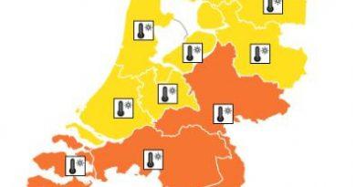 Hele weekend code geel voor Noord-Holland voor aanhoudende hitte