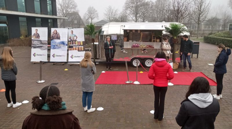 Clusius 'All you need is food' tour langs vmbo-scholen Noord-Holland