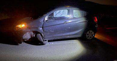 31-jarige bestuurder aangehouden na ongeval, blaast 555 ug/l